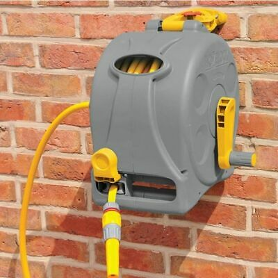 NEW Garden Hozelock Compact & lightweight 2in1 Reel with 25m Hose