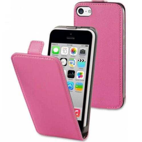 Muvit Slim cover hoes roze iPhone 5C