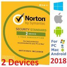 NORTON Security Standard 2018 2Device AntiVirus