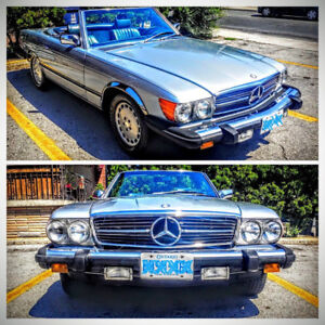 1984 Mercedes 380SL - in Great Condition - Beautiful