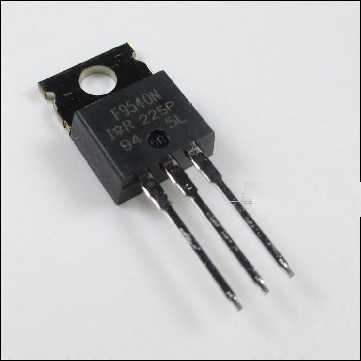 "10x IRF9540 P-Channel Power MOSFET 23A 100V TO-220 ""IR"""