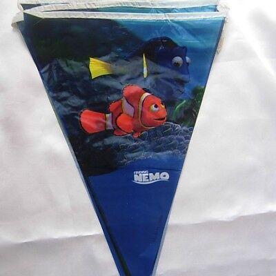 3M Children Kids Boys Birthday Party Bunting,Flag Banners  Decoration NEMO ()