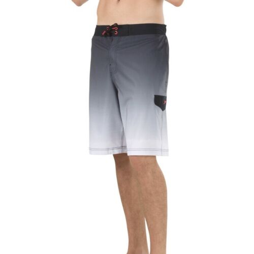NWT Men's Speedo Engineered Stretch Ombre E-Board Shorts Sma