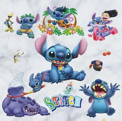 NEW Lilo & Stitch Removable Wall Stickers Decal Kids Nursing Room Home Decor USA
