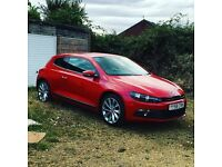 vw sirocco red
