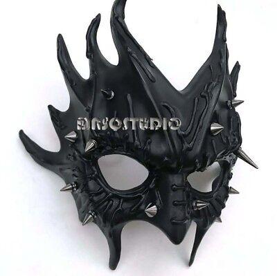 Halloween Masquerade Mask Forest Medusa Demon Spike Steampunk Costume Party