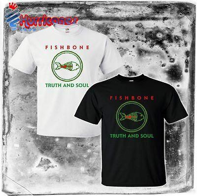 new FISHBONE Truth And Soul '88 Logo tour 25 Classic Rock band Mens S to 4XLT