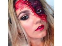 Halloween hair and makeup! face painting, special effects and makeup. Liverpool, L13