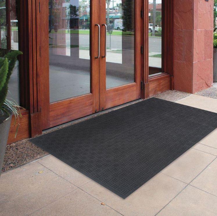 """72"""" x 48"""" Oversized Commercial Rubber Door Mat Large Outdoor"""
