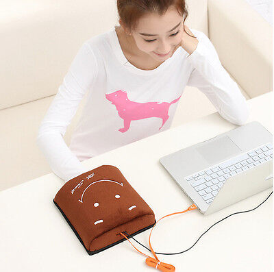 Brown Winter Usb Hand Warm Mouse Pad Heated Mousepad Laptop Gaming Mousepad