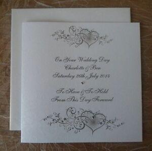 Handmade-Wedding-Card-Personalised-Beautiful-Design-With-Hearts-Scrolls