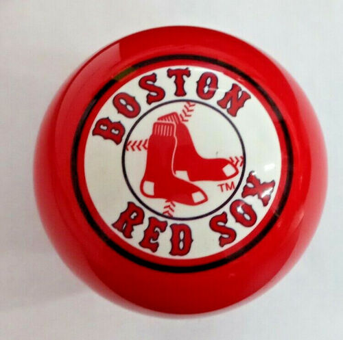 RED BOSTON RED SOX MLB TEAM BILLIARD GAME POOL TABLE CUE 8 BALL REPLACEMENT