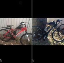 Motorized bikes Granville Parramatta Area Preview