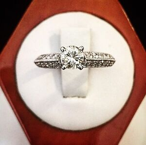 14K Gold 1.01ct. Diamond Engagement Ring *Appraised @ $6,600