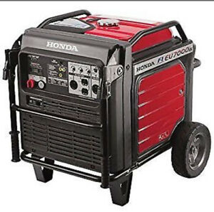 WANTED HONDA GENERATOR