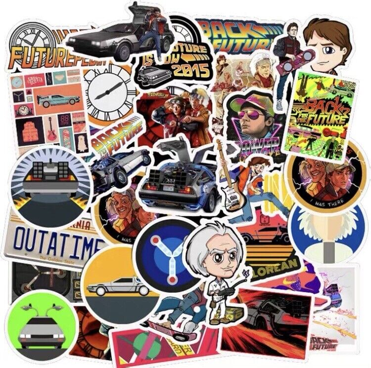 Back To The Future Sticker Pack (10 Stickers)