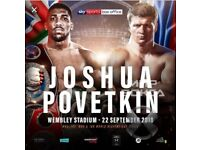 Anthony Joshua v povetkin tickets