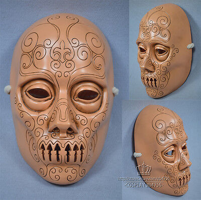 Hot 1:1 Death Eaters Resin Mask Cosplay Props Halloween Mask - Death Eater Halloween Mask
