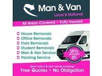Cheap Man And Van Hire Removal Services