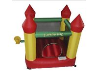 Kids bouncy castle 6.5fx7f with blower