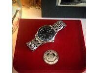 Stunning Seamaster Omega watch with box