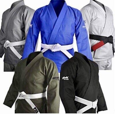 Hawk Brazilian Jiu Jitsu Gi BJJ Gi for Men & Women Grappling gi Uniform Kimonos
