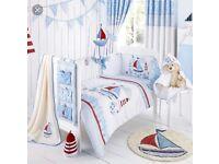 Baby Boys Nautical Nursery Set