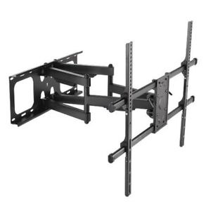 Full motion tv wall mount for upto 90 inch