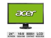 """Acer PC Monitor 24"""" Inch"""