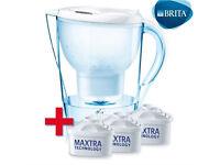 BRITA water filter jug + 2 cartridges
