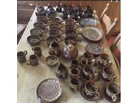 73 Piece Pottery (some fosters)