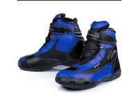 Hipora motorcycle ankle boots