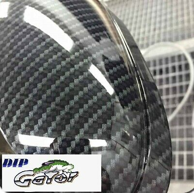 Water Transfer Dipping Hydrographic Hydro Film 0.51m Black Carbon Fiber Waves