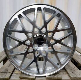 NEW 18'' DARE LP560 ALLOY WHEELS X4 BOXED 4X100 HONDA VW SEAT MAZDA FORD