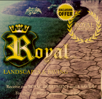 ROYAL Landscapes & Paving    {DESIGN - CREATE - INSPIRE}