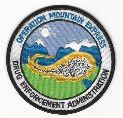 DEA Operation Mountain Express Police Sheriff Narcotics State