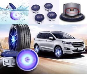 LED Wheel Center Hubcap Caps For Ford/Honda/Mercedes/BMW