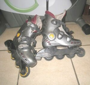 Used @Ero Wheels Rollerblades, Size 4, good condition