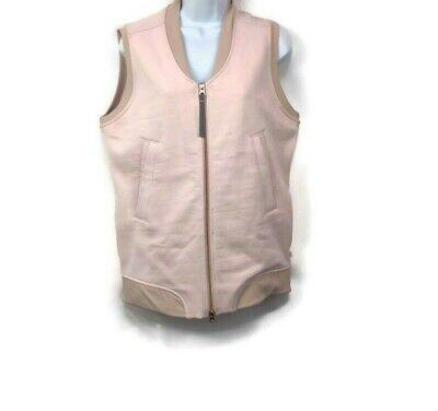 Lululemon Departure Vest Parfait Pink Naked Zip Front Rose Gold Zipper 6