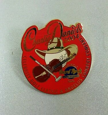 Charlie Daniels Country Concert Celebrity Golf Hard Rock Pin 2004 Numbered #0350