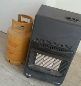 Calor gas heater 4.2kw + gas bottle