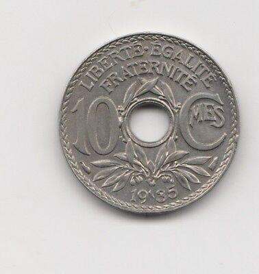 10 centimes Frankreich   1935  (1667)