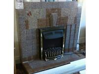Original 1930's fireplace x 2