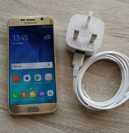 SAMSUNG GALAXY S6 UNLOCKED 32GB GOLD