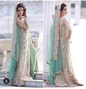 Pakistani  bridal 3 wedding dresses