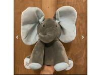 Peekaboo toy elephant