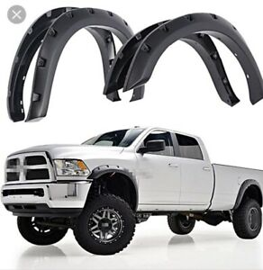Brand New 2009-2018 Dodge Ram fender flares
