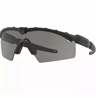 NEW SI Ballistic Oakley Industrial M-Frame 2.0 Strike IP OO9213-03 Black Frame