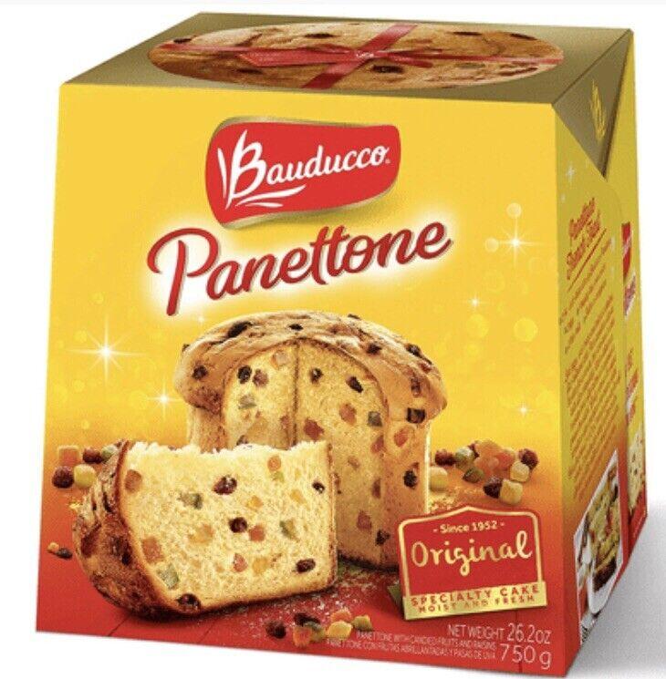 Bauducco Panettone Classic, Traditional Holiday  26.2 Oz