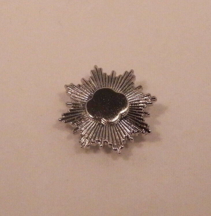 Girl Scouts Silver Award Pin~Rounded Trefoil Prior to 2011~Pre-Owned